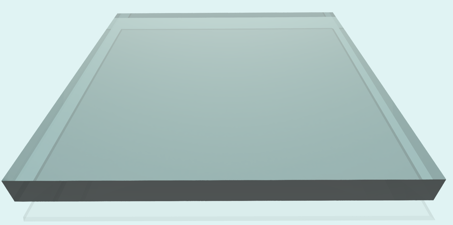 Polycarbonat 15 mm, klar