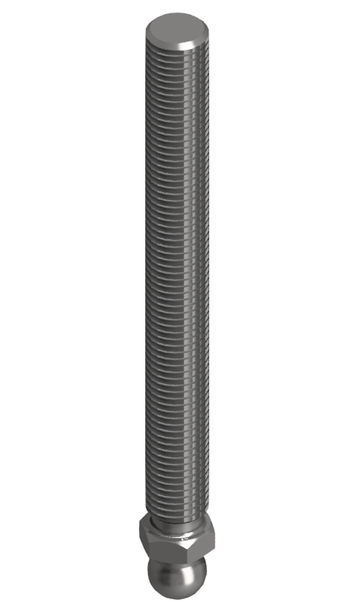 Gewindestange VA M16x150, Edelstahl