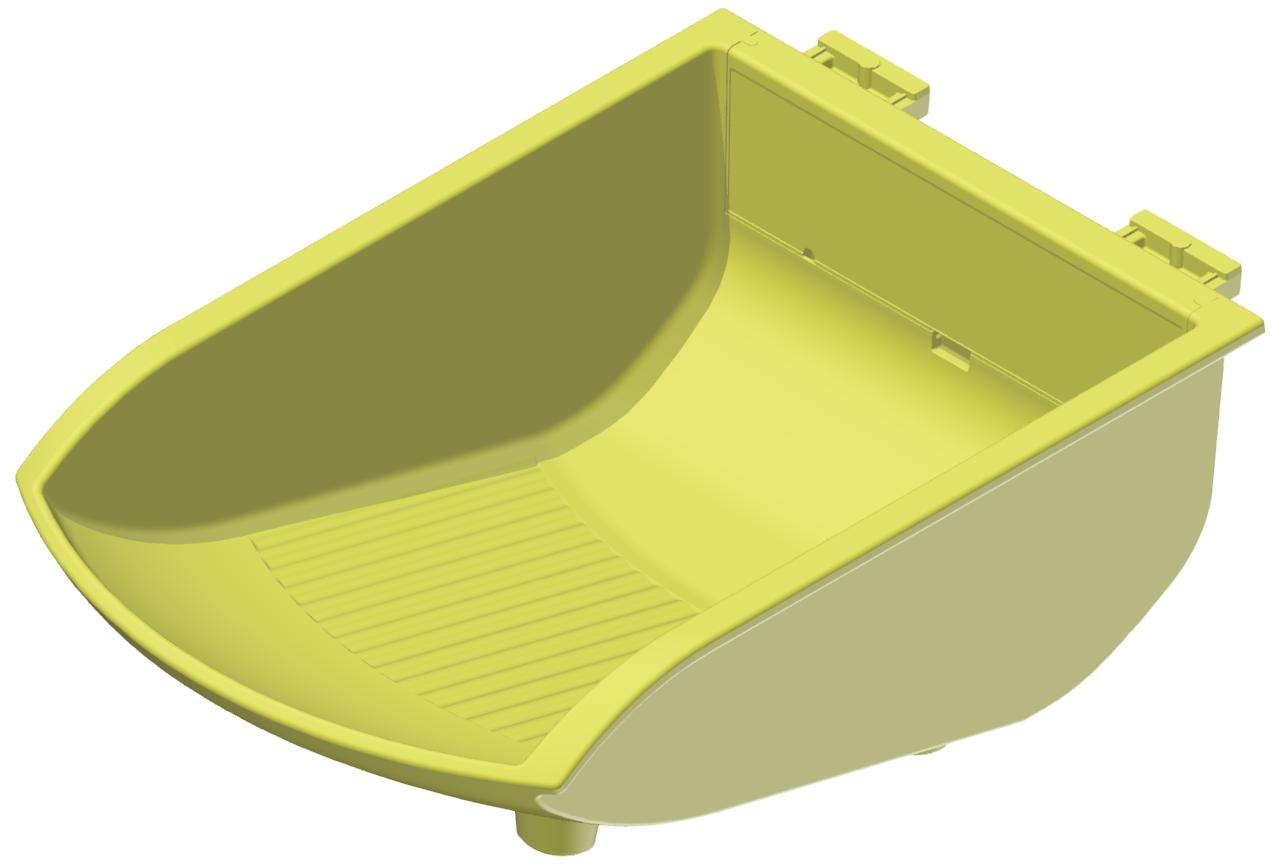 Greifschale 105x130, gelb-8