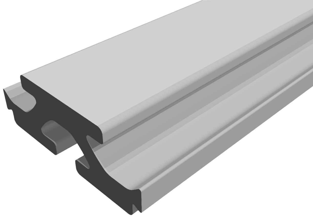 Plattenverbindungsprofil 20x55 natur- 8