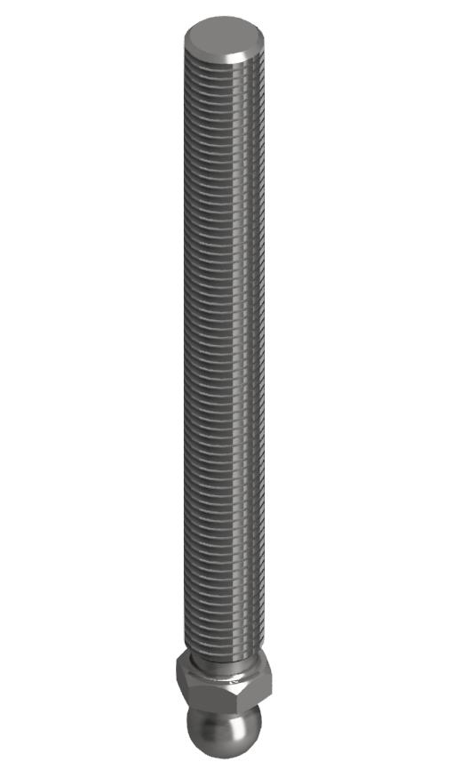 Gewindestange ST M16x150, verzinkt