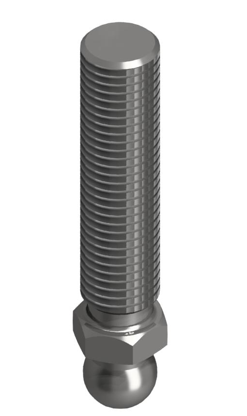 Gewindestange VA M16x66, Edelstahl
