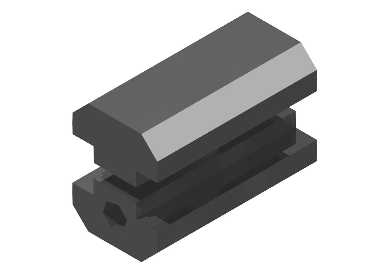 Parallelverbinder, verzinkt-8