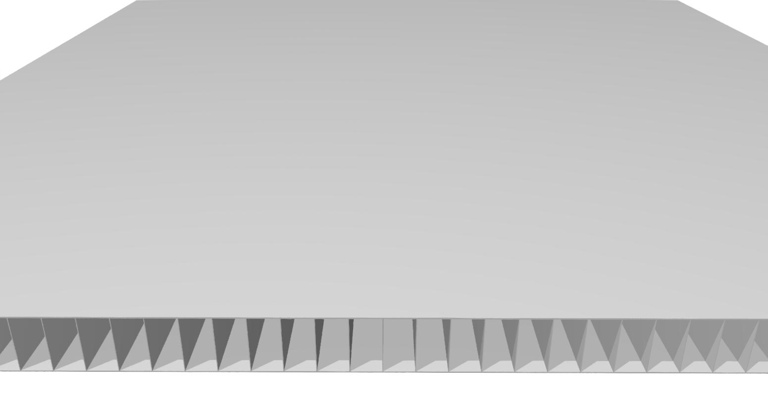 HohlkammerplatteCon Pearl 9,9 mm Ral 7046, grau