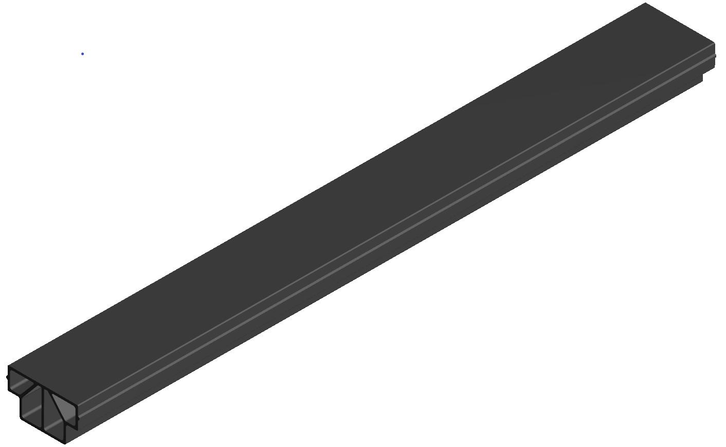 Gleitleiste ESD schwarz-8