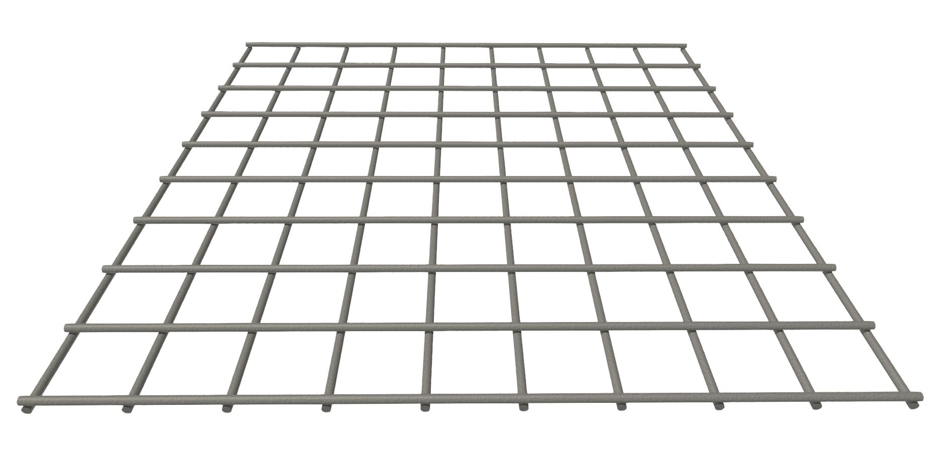 Stahlgitter 3mm 30x30, verzinkt