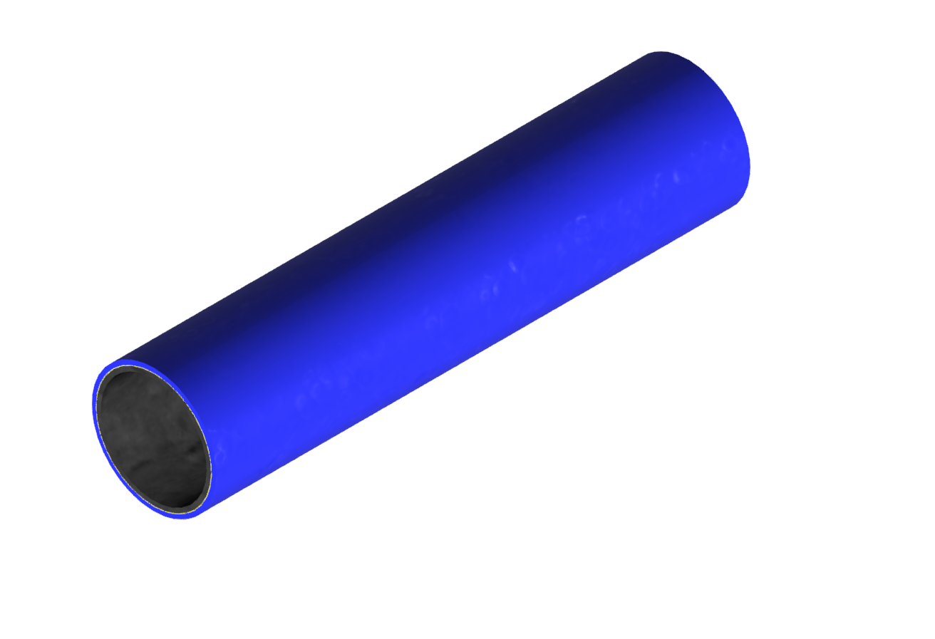 M-Rohr 1 mm blau
