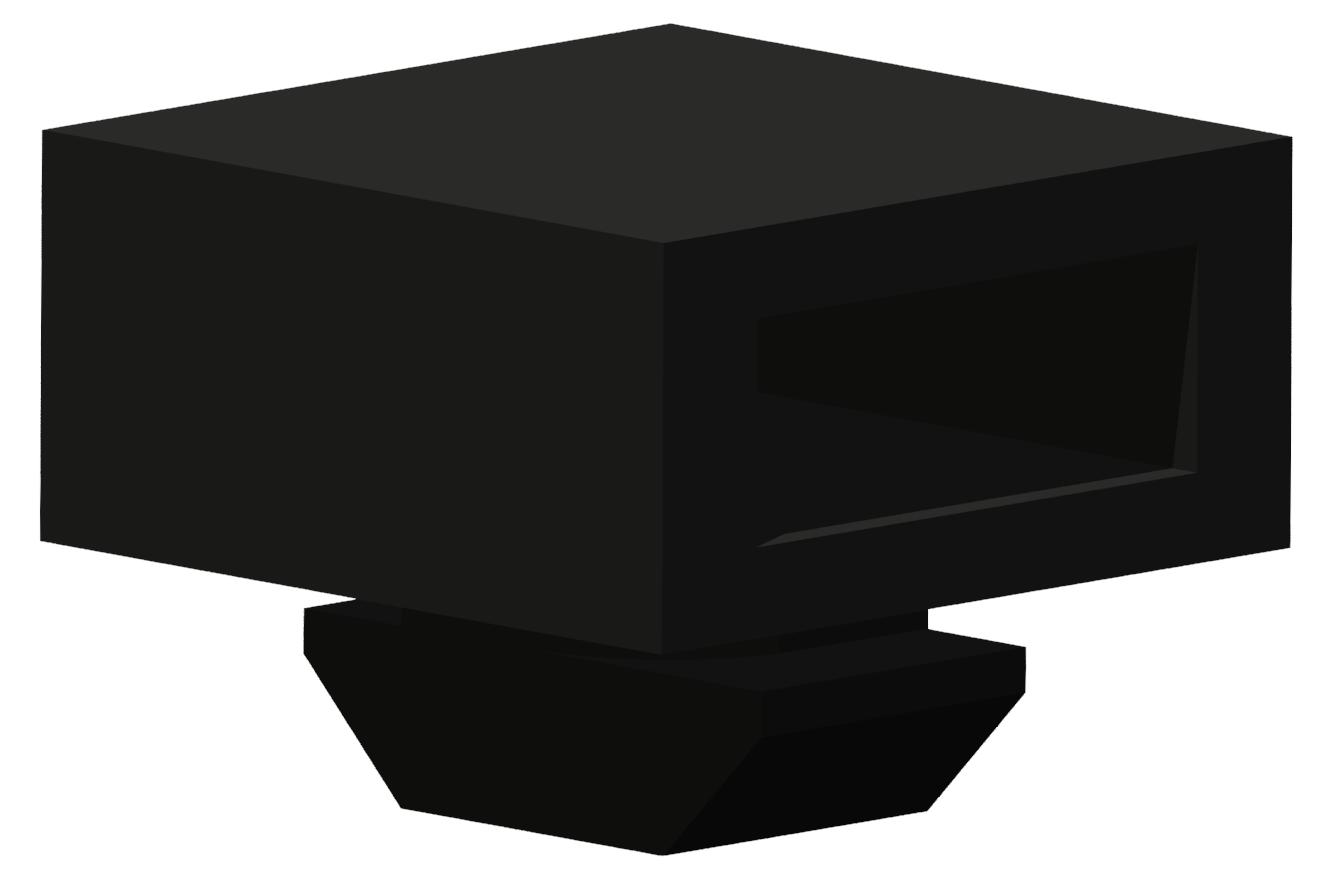 Kabelbinder-Block 830, schwarz