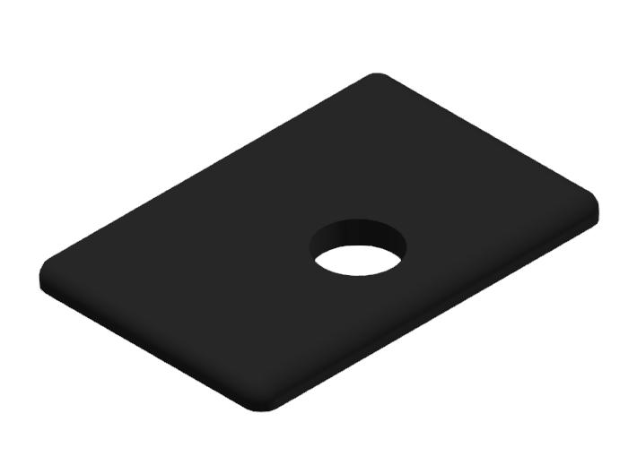 Abdeckkappe 30x45WG40, schwarz-8