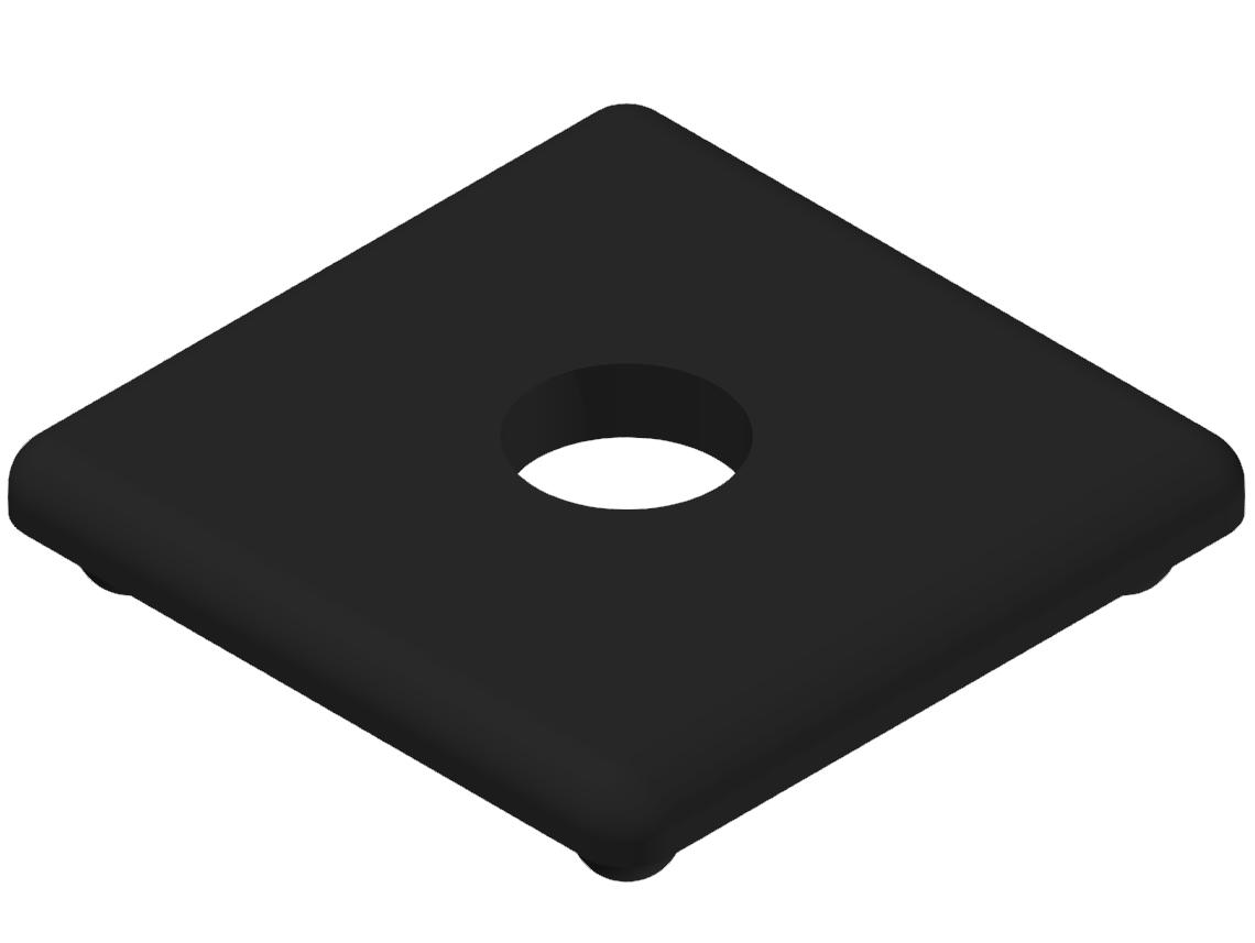 Abdeckkappe 30x30 LO, schwarz-8
