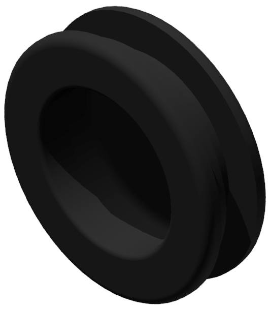 Griffmulde D50, schwarz-8
