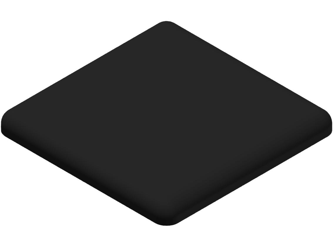 Abdeckkappe 19x30, schwarz-8
