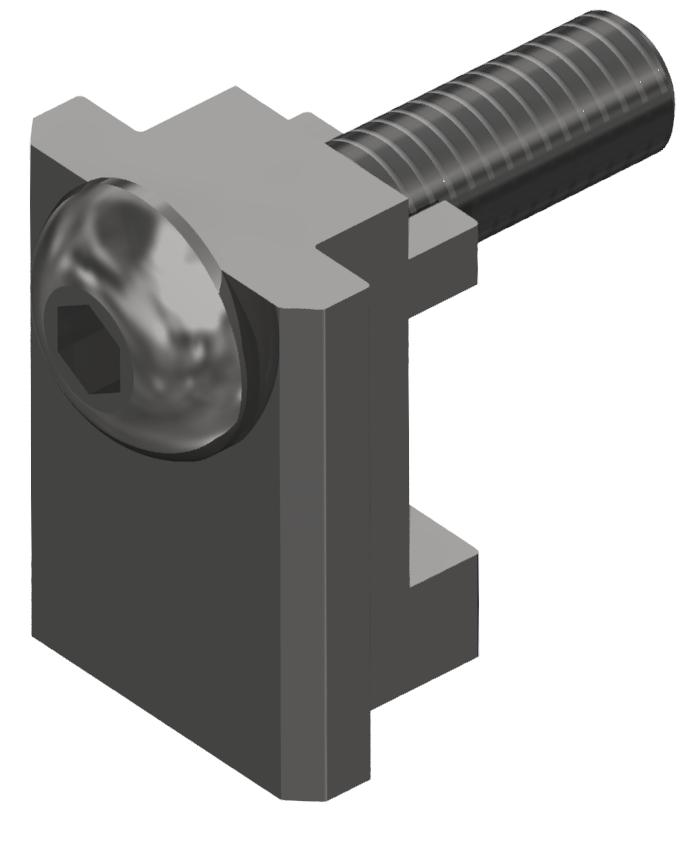 Klemmprofil-Verbindungssatz 8 32x18