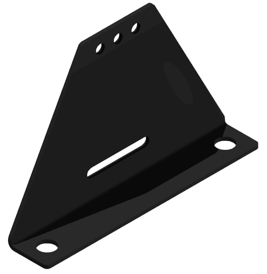 Stellfuß 240x160, schwarz-8