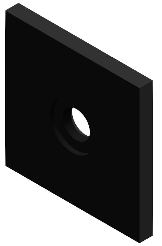 Druckplatte 100x100x10, brüniert-8
