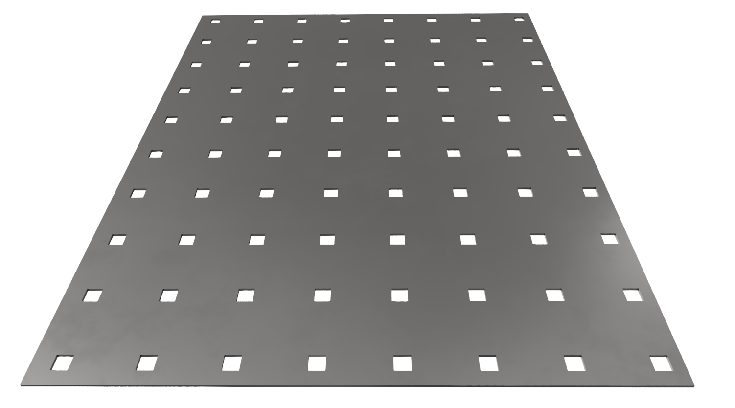 Lochblech ST 1,5mm Qg 10-48, blank