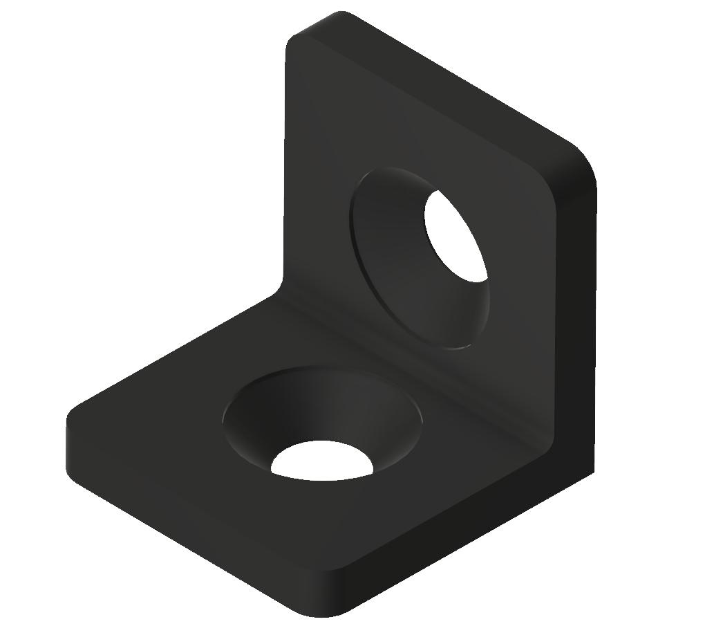 Winkel 20 ST, schwarz-6