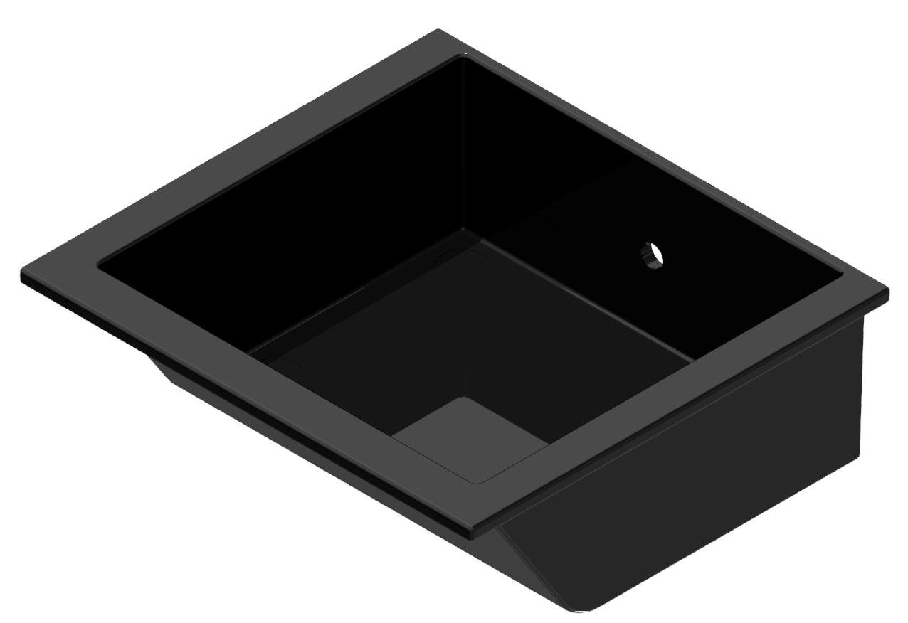 Greifschale 110x105, schwarz-8