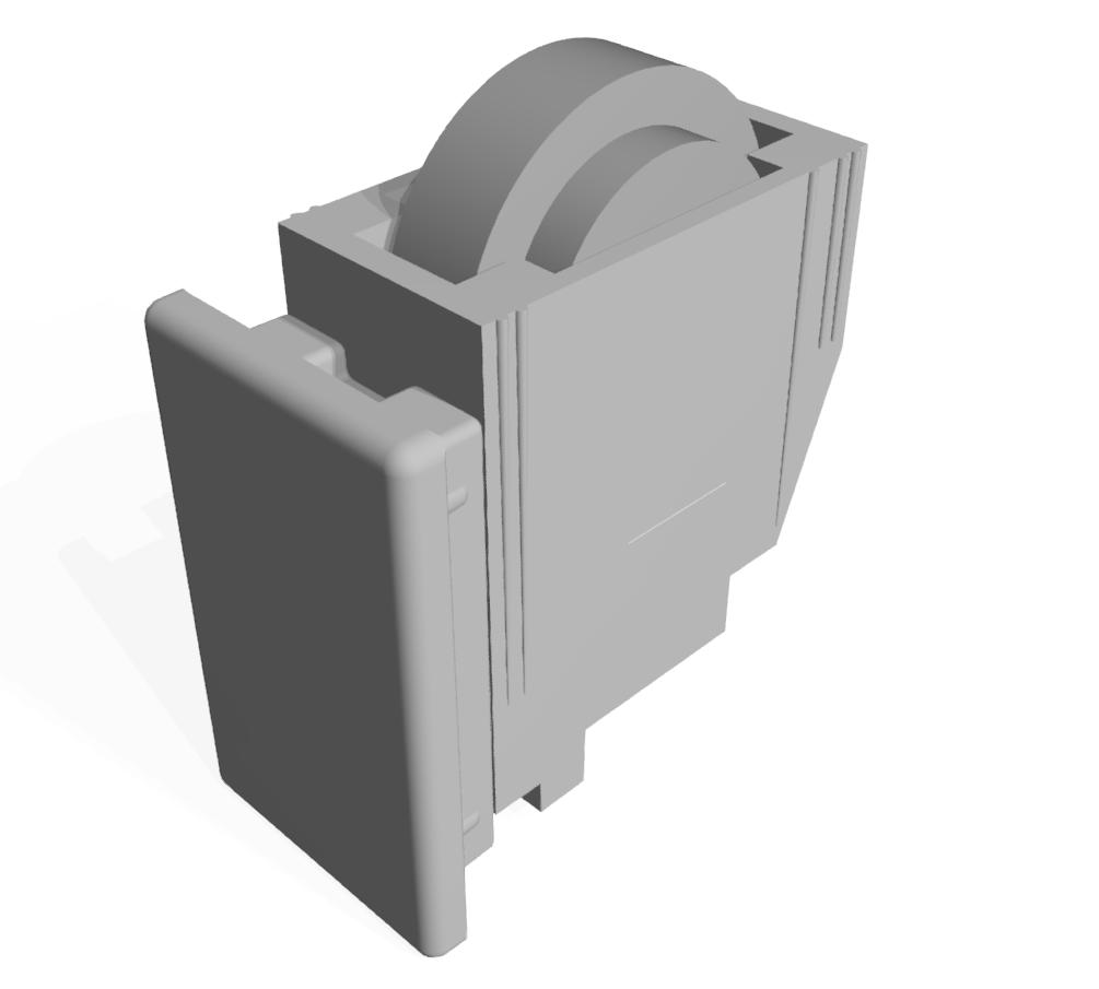 Rollensatz für Eckverbinder 32x18-8