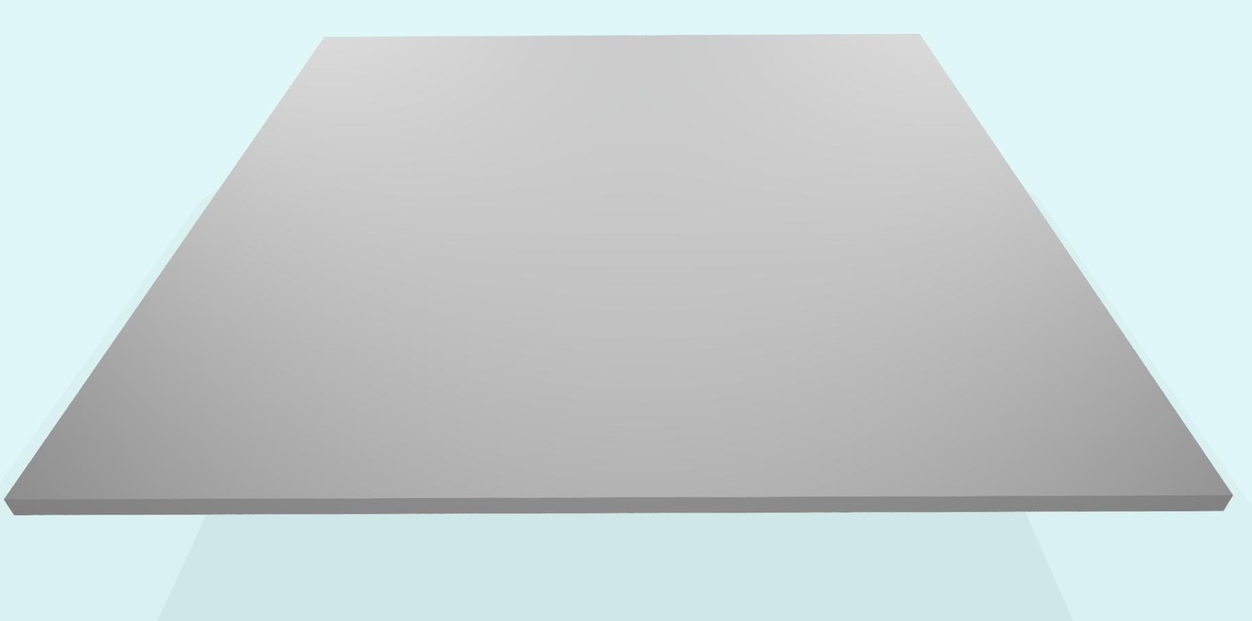 Alublech 4 mm, eloxiert