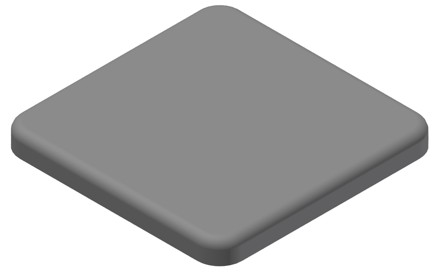 Abdeckkappe 40x40, grau-10