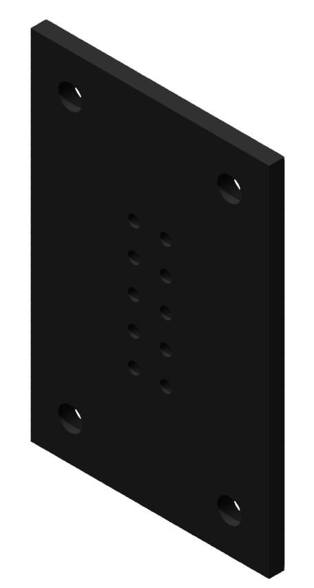 Portalplatte 450x300 80x200, brüniert-8