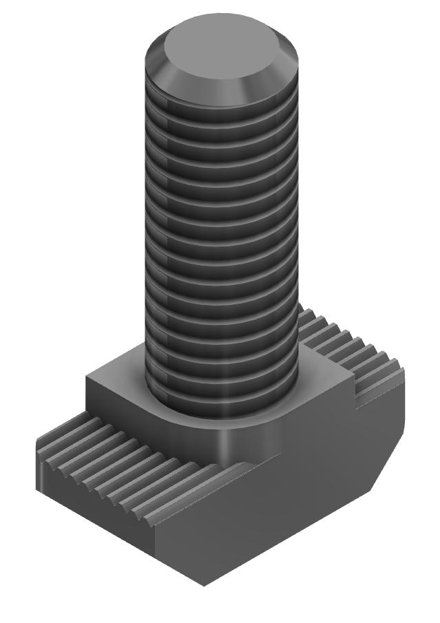 Hammerkopfschraube M8x25, Edelstahl-10