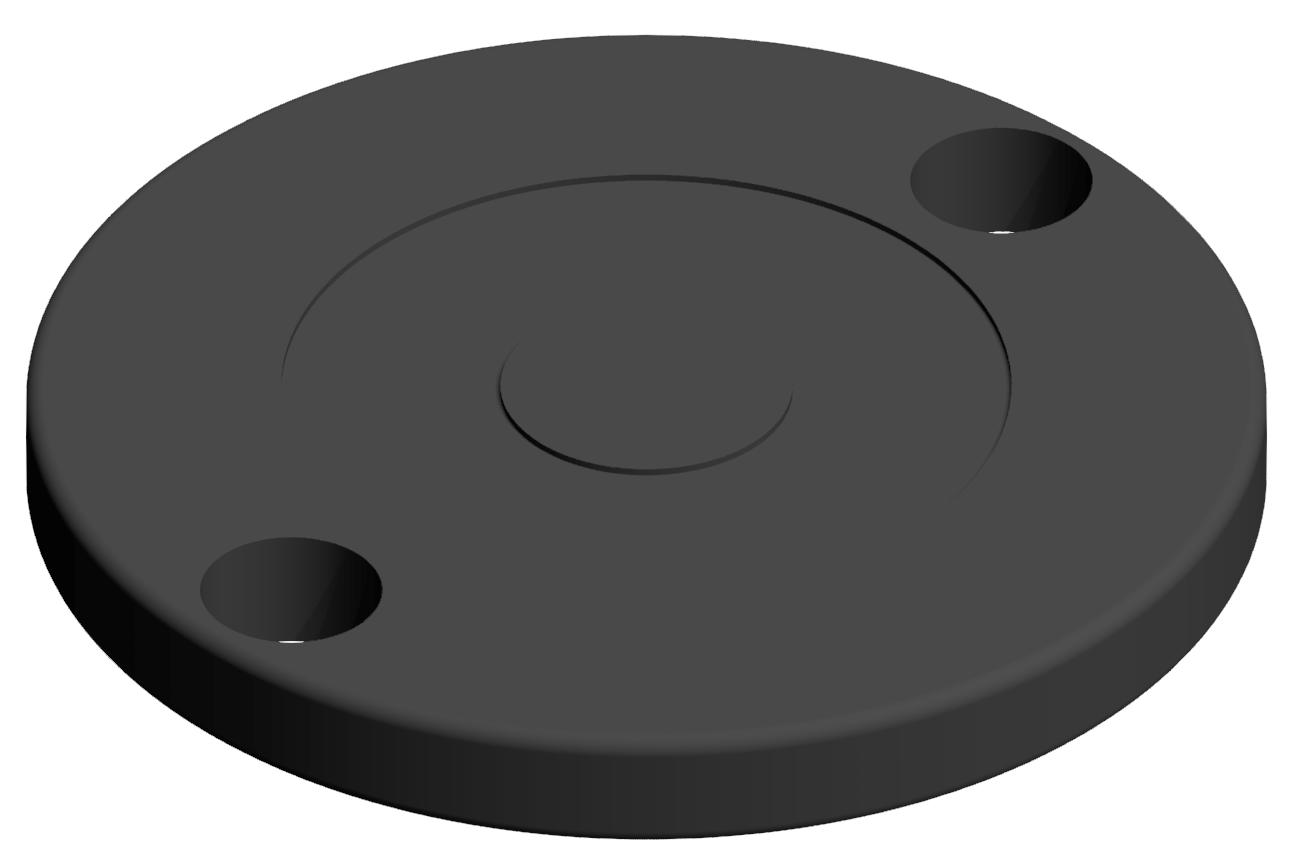 Gummieinsatz A-B-C D80, schwarz