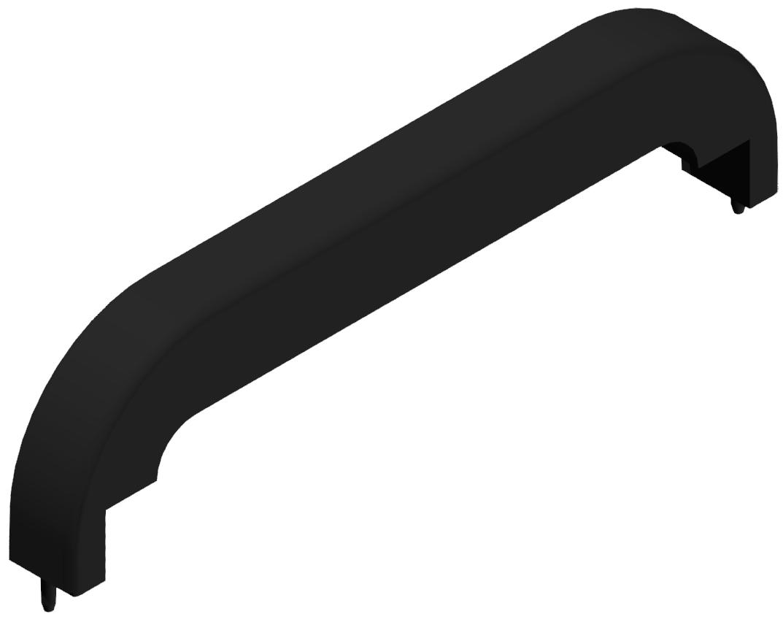 Abdeckkappe HG PA 160, schwarz - 6/8/10