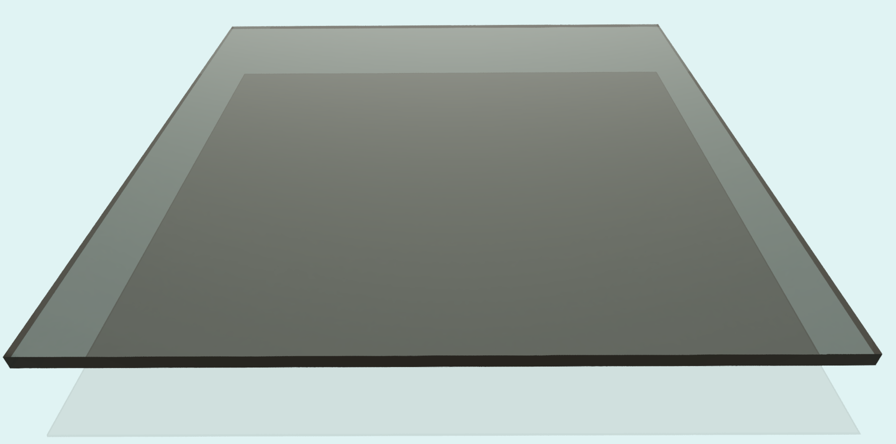Plexiglas 4 mm, rauchfarben