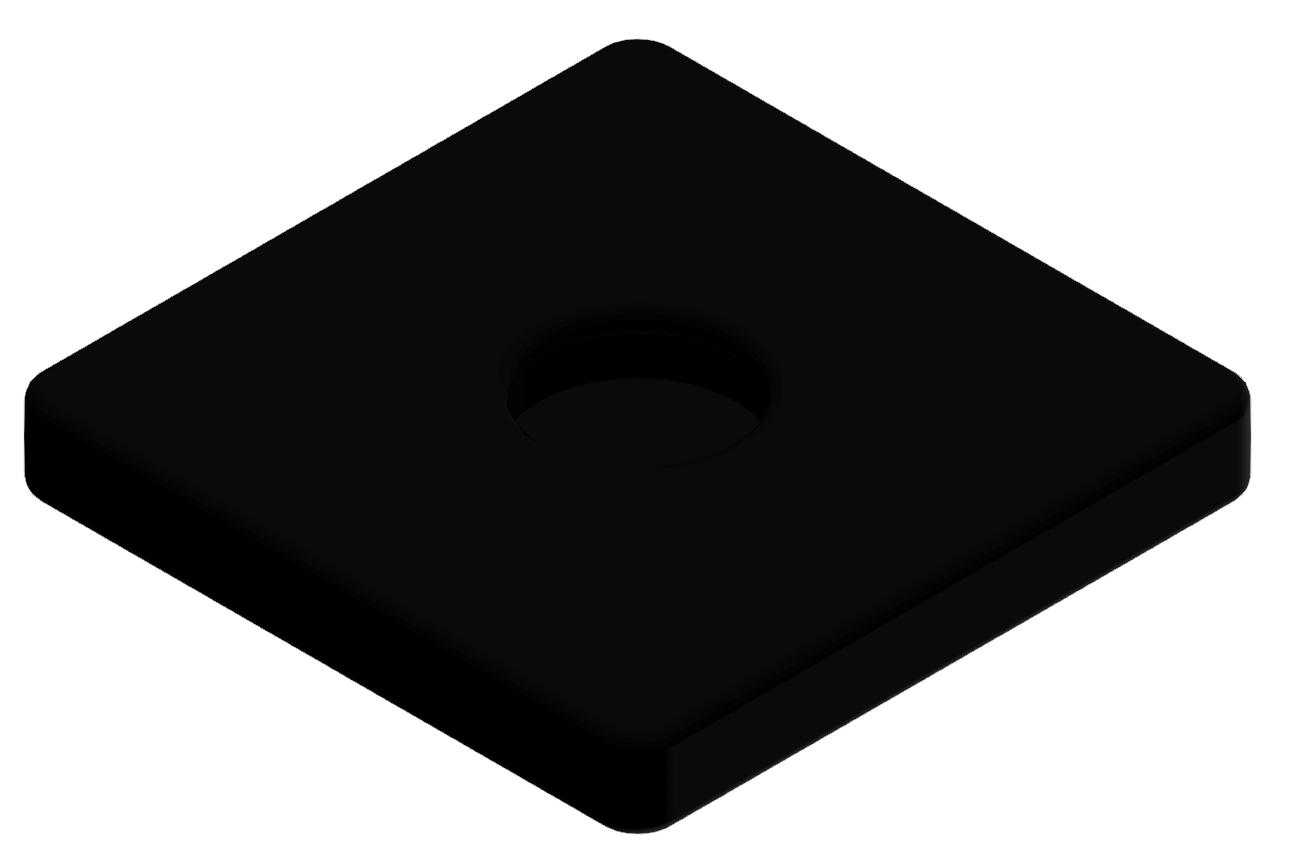 Gummieinsatz D D60, schwarz
