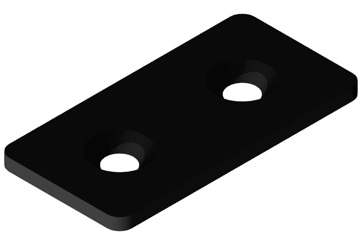 Lasche 40 St, schwarz-8