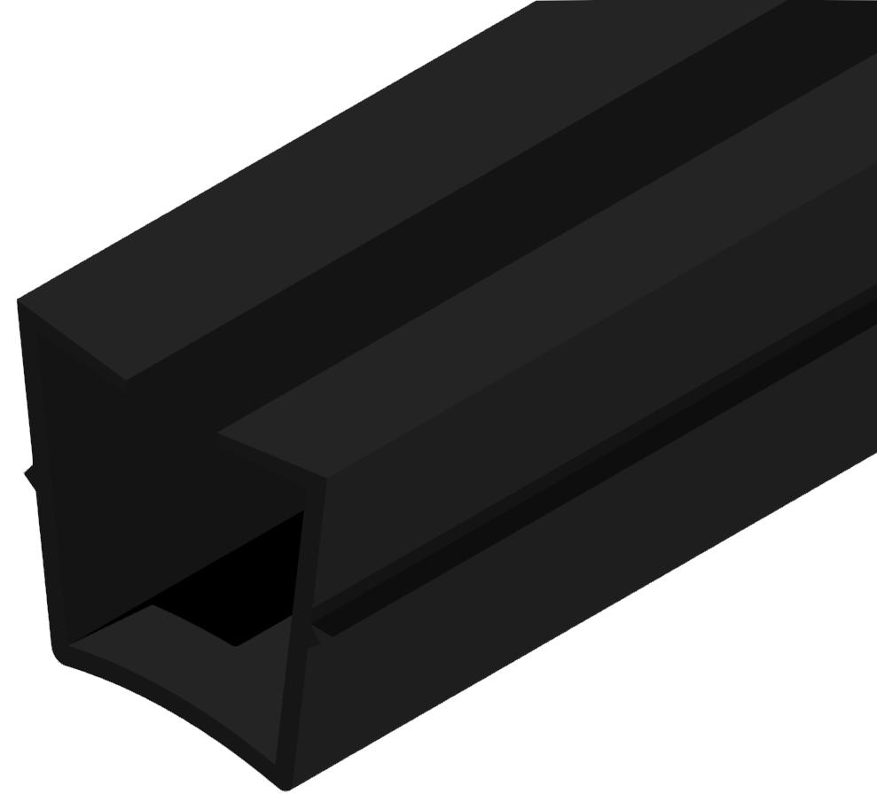 Abdeck- und Einfassprofil 10 Klemmprofil 32x18-8 (Zuschnitt) - 8