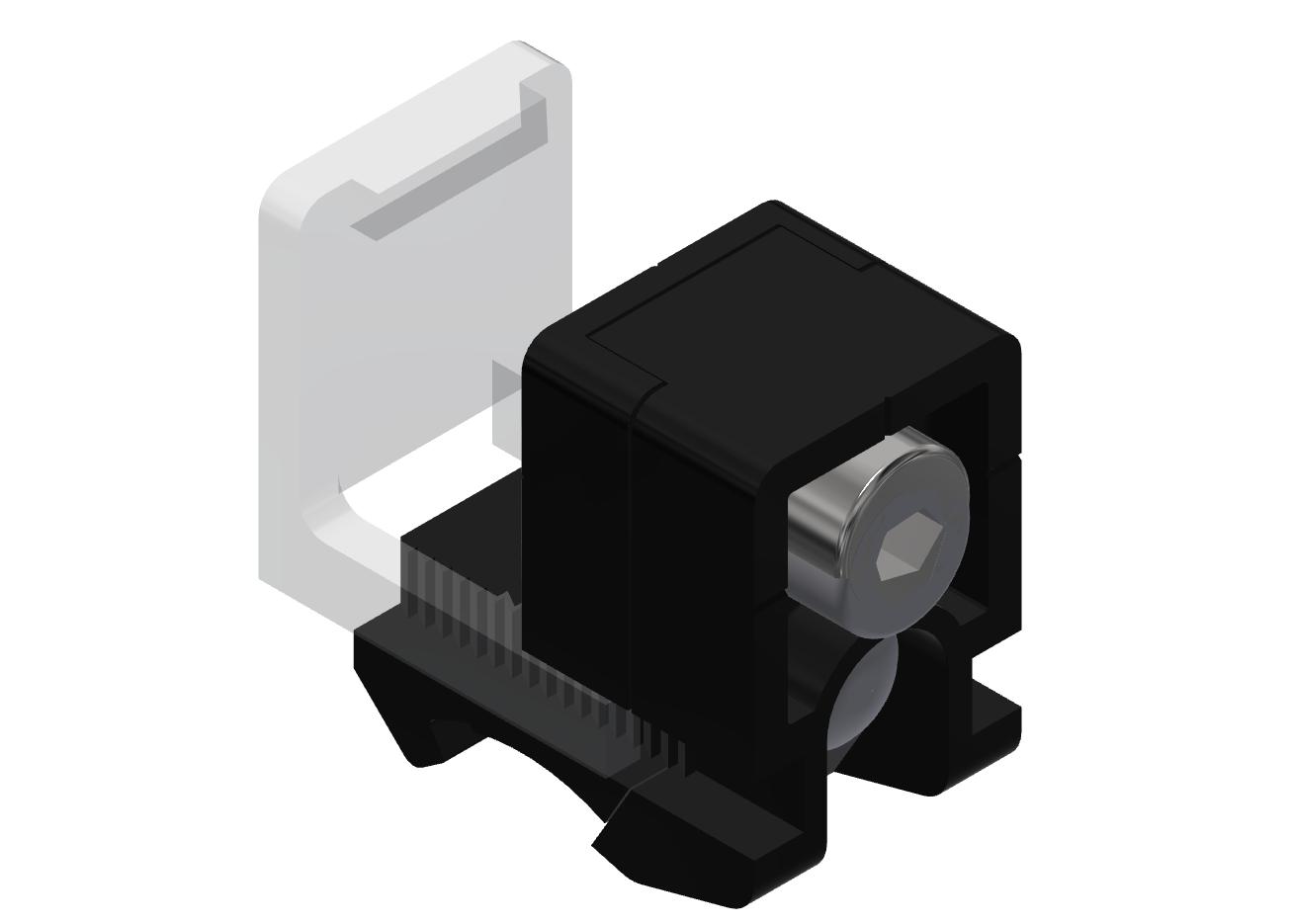 Varioblock PA Set, schwarz D28